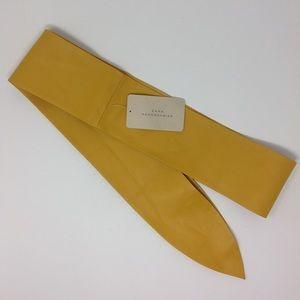 🎁 NWT Zara Vegan Leather Wrap Belt